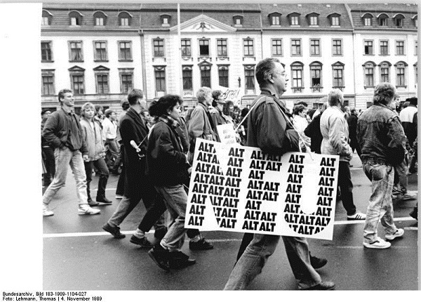 Bundesarchiv Bild 183 1989 1104 027 Berlin Demonstration